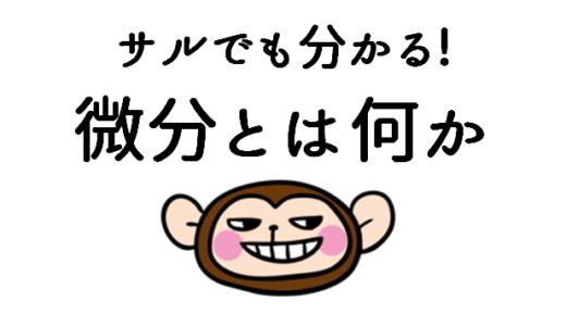 サルでも分かる!微分法とは何か